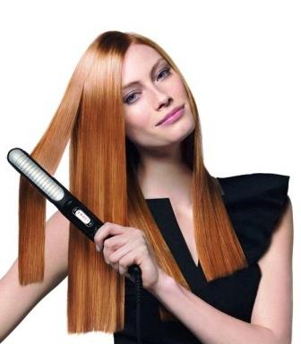 Красивые волосы как сделать ровными
